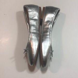 Sam Edelman Shoes - New- Sam Edelman Felicia ballet flats sz 7w silver